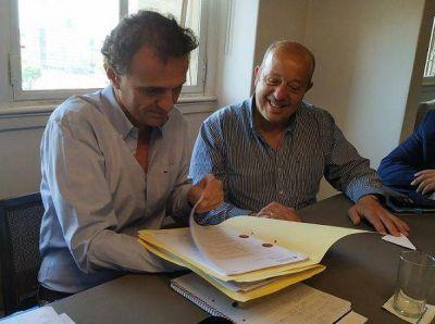 Jorge Paredi elevó al ministro Katopodis el pedido de finalización del polideportivo en Santa Clara del Mar