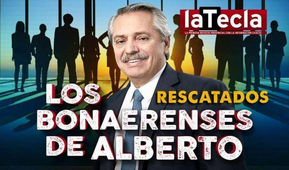Los bonaerenses de Alberto