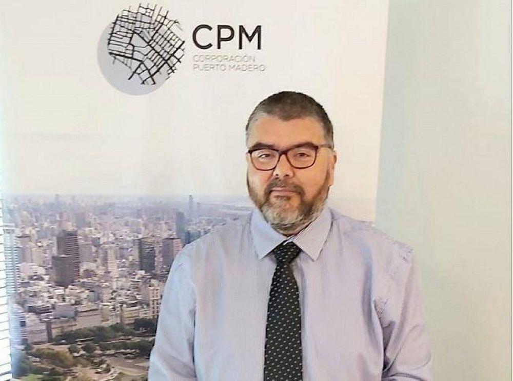 Fabián Brest asumió como vicepresidente de la Corporación Antiguo Puerto Madero