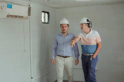 Avanza la construcción del nuevo Centro de Operaciones del SAME
