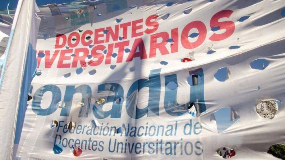 Los gremios universitarios pidieron se incorpore a la docencia universitaria y preuniversitaria al aumento de emergencia