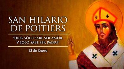 Hoy es la fiesta de San Hilario de Poitiers, Doctor de la Iglesia