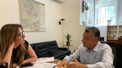 Las Flores: Gelené mantuvo importantes reuniones en La Plata