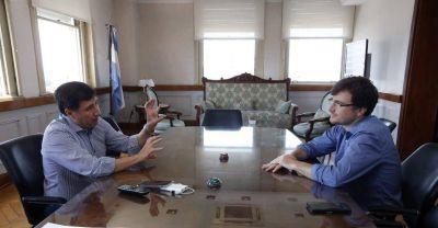 Lucas Ghi y Daniel Arroyo ultimaron detalles para la llegada de la Tarjeta Alimentaria a Morón