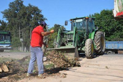 Retiran 100 camiones de residuos de varios barrios