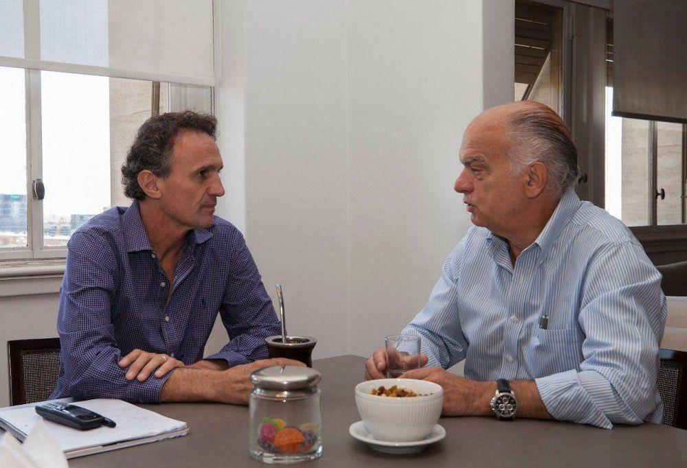 Néstor Grindetti brindó detalles de su reunión con el ministro Katopodis