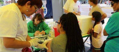 Lanús: durante enero continúa el operativo de vacunación contra el sarampión