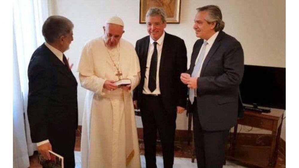 Histórico: Alberto Fernández se reúne con el papa Francisco