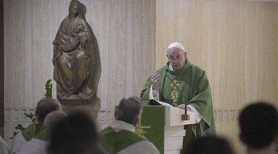 Papa Francisco: Qué mal hacen los cristianos incoherentes que no dan testimonio