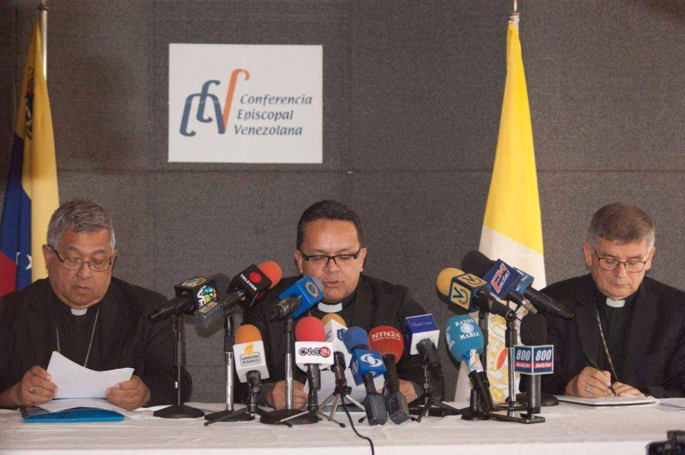 """Venezuela: Obispos piden apoyo internacional orientado a facilitar """"elecciones libres y confiables"""""""
