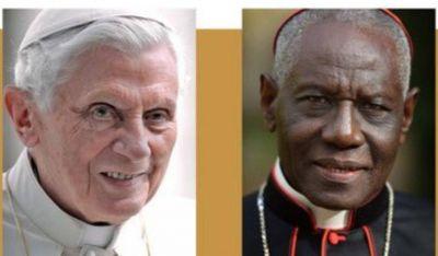 El cardenal Sarah presenta pruebas: Benedicto XVI ha colaborado en el libro sobre el celibato