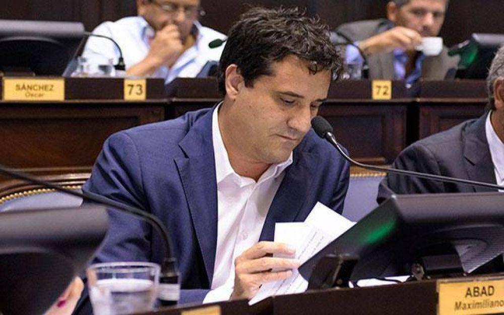 """Abad a Kicillof: """"Responsabilizar a Vidal es querer lavarse las manos de sus propios compromisos"""""""