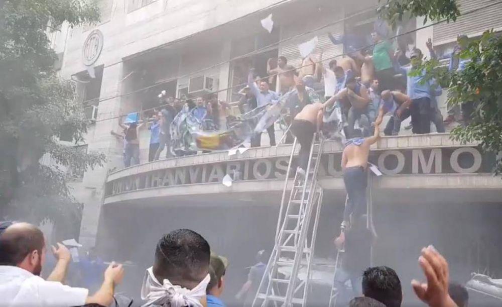 Crisis en la UTA: la oposición volvió a marchar para pedirle la renuncia a Fernández