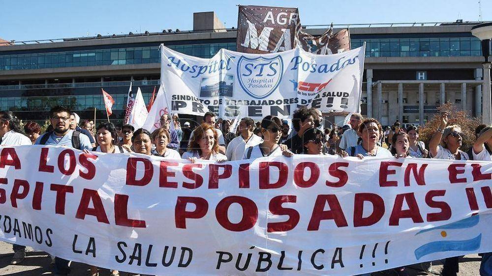 Como en el INTI, despedidos del Hospital Posadas piden ser reincorporados
