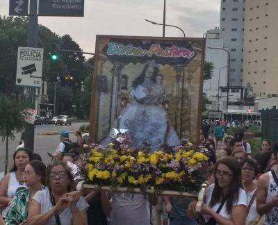 Venezolanos celebraron en Buenos Aires a la Divina Pastora