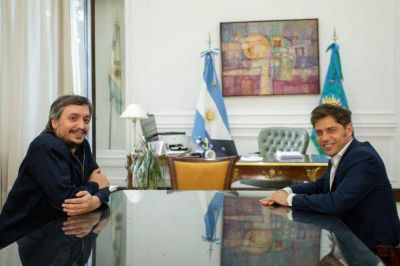 Agenda apretada: Kicillof mantuvo reuniones con Máximo Kirchner, Omar Gutiérrez y Nicolás Trotta