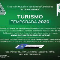 La Mutual de Camioneros presenta sus planes de turismo