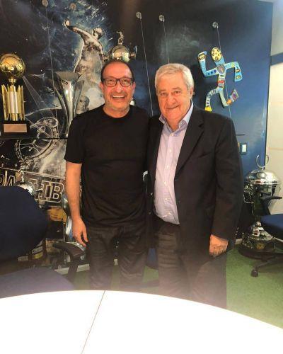 Vivona se reunió con el presidente de Boca para realzar a los clubes de barrios