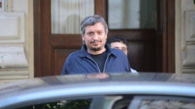 Máximo respaldó a Kicillof por la ley impositiva y la negociación por la deuda