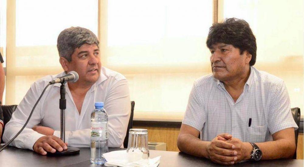 Moyano apoyó a Evo y confirmó que su presencia en el acto en el que oficializará a su candidato