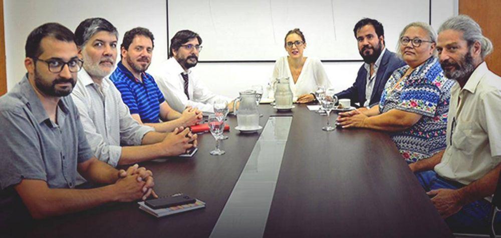 Paritarias: Judiciales bonaerenses se reunieron con Ruiz Malec
