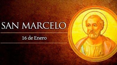 Hoy es fiesta de San Marcelo, Papa