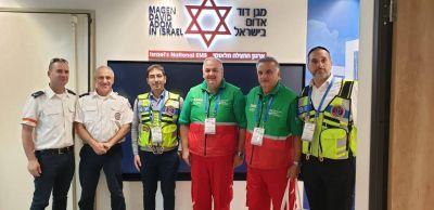 El SAME y Jevra Hatzalah Argentina presentes en la 6° Conferencia Internacional sobre Preparación y Respuesta a Emergencias y Desastres que se realiza en Israel