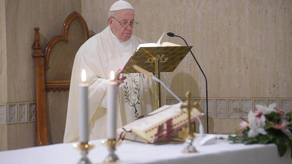 Papa Francisco: lo esencial de la vida es nuestra relación con Dios