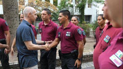 Policía de la Ciudad en alerta: Larreta le otorgaría apenas un 15 por ciento de aumento anual