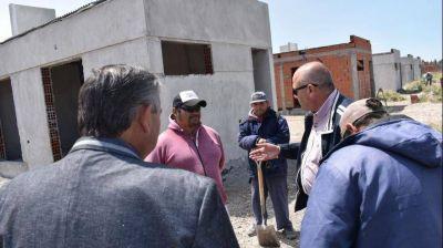 Patagones reactivó la construcción de 71 viviendas