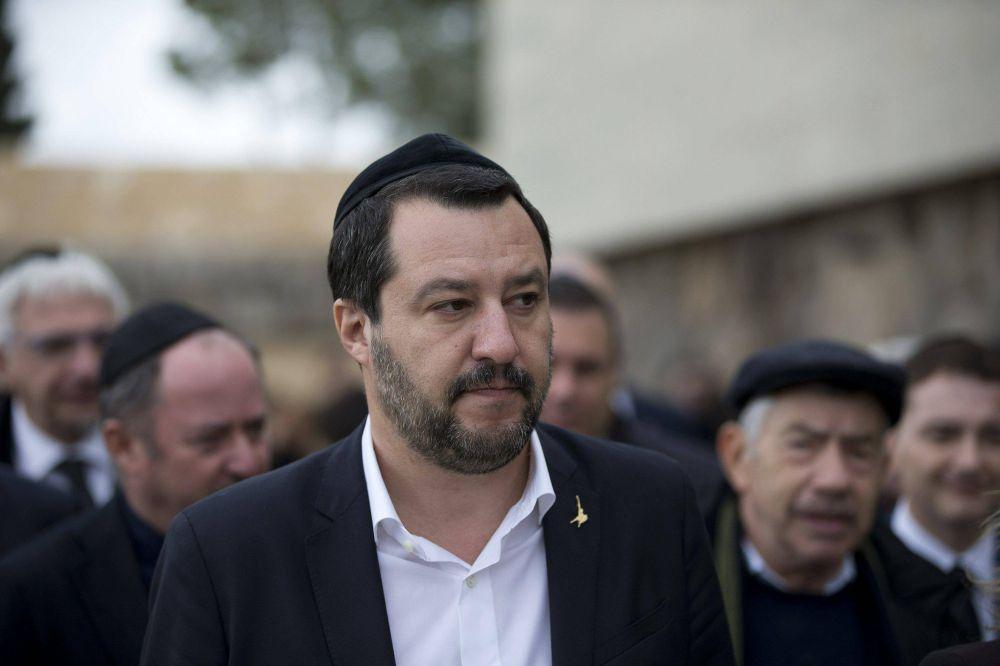 Matteo Salvini promete reconocer a Jerusalem como capital de Israel de convertirse en primer ministro de Italia