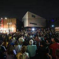 Marcha en Villa Gesell por el crimen de los rugbiers:
