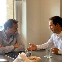 Abella se reunió con Katopodis para planificar obras para Campana