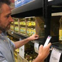 Con la app, Achával salió a controlar Precios Cuidados