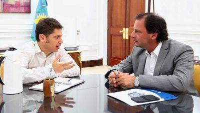Axel Kicillof recibió a Ariel Sujarchuk para ir planificando políticas y obras