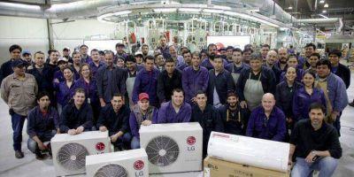 Newsan comenzó a fabricar aires acondicionados LG en Tierra del Fuego