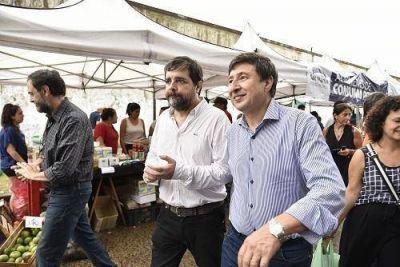 Moreira y Arroyo presentaron la Tarjeta AlimentAR en San Martín