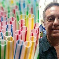Diego Castagnaro presentó un proyecto para restringir los plásticos de un solo uso en Escobar