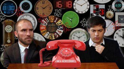 Máxima tensión: Guzmán y Axel Kicillof esperan veredicto de los bonistas tras la jugada de riesgo