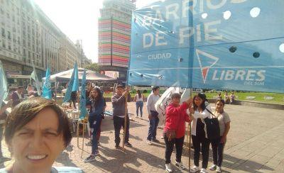 Las organizaciones sociales marchan para que Larreta cumpla con la asistencia a comedores que prometió