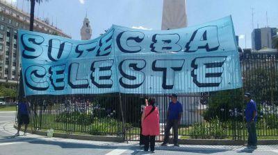 """Acción de amparo de agrupación """"Celeste"""" de Sutecba contra Larreta"""