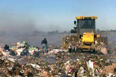 Retiraron 880 toneladas de residuos en microbasurales en una semana