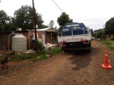 Asistieron a vecinos de la Chacra 146 que estaban sin agua desde hace cuatro días