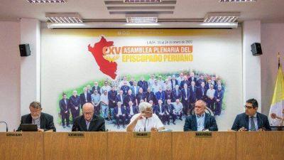 Siguen los trabajos de Asamblea ordinaria de Episcopado peruano