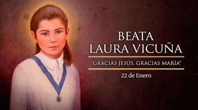 Hoy es la fiesta de la Beata Laura Vicuña, protectora de la dignidad y pureza de la mujer
