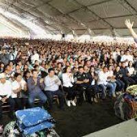 Junto con CADENA se entregan apoyos a familias vulnerables a frentes fríos y equipo para fortalecer la seguridad en Chiapas