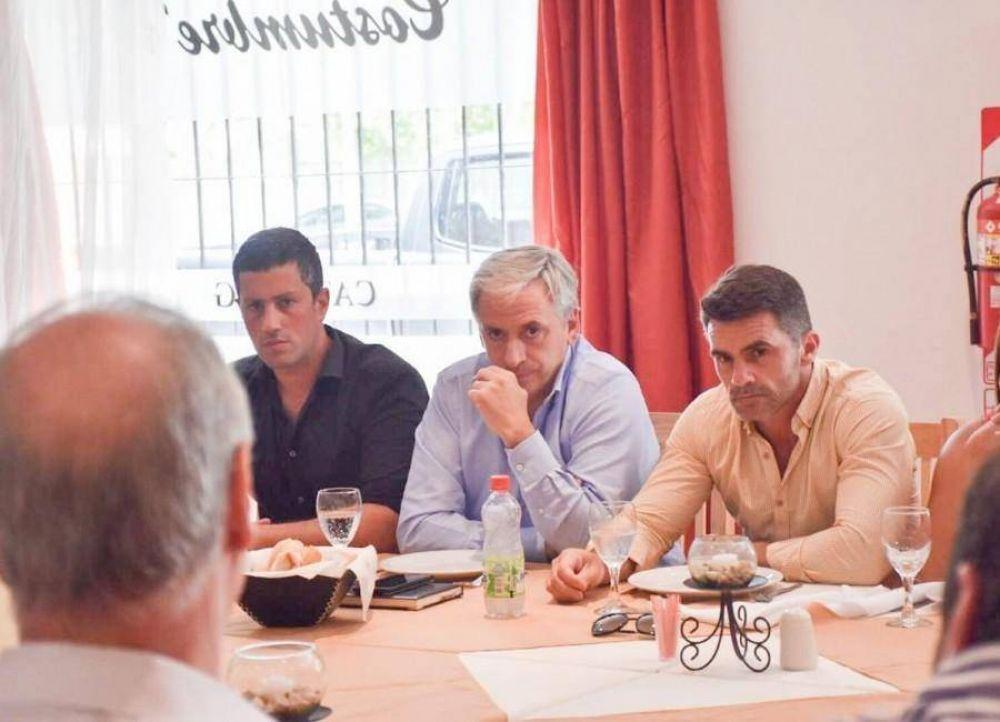 Castelli presente en el primer Consejo Regional de Salud