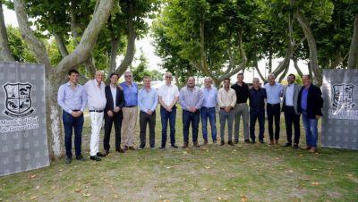 Consejo Regional de Salud: el ministro Gollan recibió a funcionarios de La Plata, Berisso y Ensenada