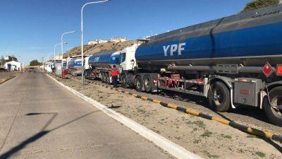 Chubut: Camioneros continúan con medidas de fuerza por tiempo indeterminado