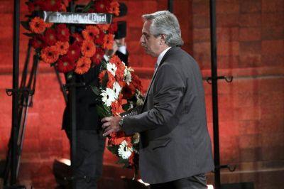 Alberto Fernández hizo un llamado a la paz entre Israel y Palestina
